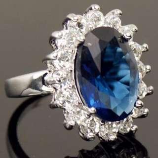 Swarovski Crystal Wedding Band White Gold GP Ring a470