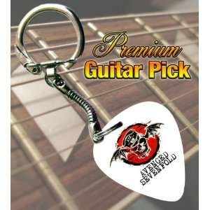 Avenged Sevenfold Premium Guitar Pick Keyring Musical