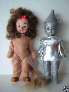 McDonalds Madame Alexander Wizard Oz Tin Man Lion Dolls