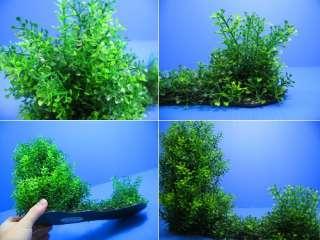 3D Aquarium PLASTIC PLANTS 15L Ornament fish Decor