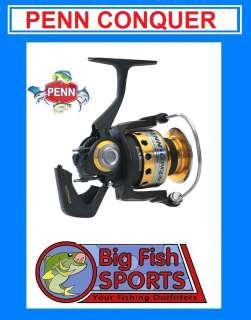 PENN CONQUER CQR7000 Fishing Spinning Reel FREE USA SHIPPING!