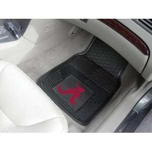 Alabama Crimson Tide Premium All Weather 2pc Rubber Car