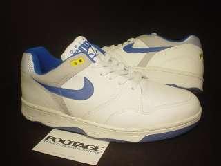 1988 ORIGINAL VINTAGE Nike Air 1 Driving Force Low WHITE ROYAL BLUE