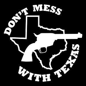 TEXAS STICKER texans oil cowboy state bumper decal dallas star