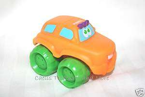 Tonka Playskool WHEEL PALS Mini Orange Monster Truck NW