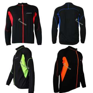 Mens Cycling Bike Bicycle Biking Wear Jersey Long Sleeve Breathable