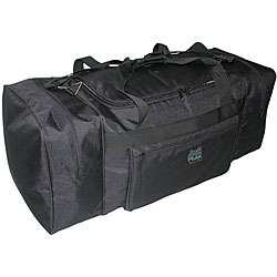 High Peak Large Black Duffel Bag