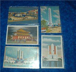 Lot Collection 88 postcards~1934 CHICAGO WORLDS FAIR~see MANY pics