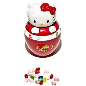 Jelly Belly Hello Kitty Ceramic Jar, 1.4 Ounce  Grocery