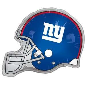 Lets Party By Classic Balloon Corporation New York Giants Helmet Jumbo