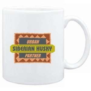 Mug White  URBAN Siberian Husky PARTNER  Dogs Sports