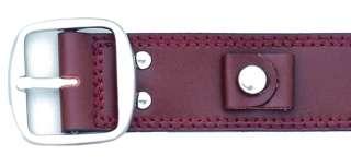 New Genuine Calfskin Leather One Piece Watch Strap Band