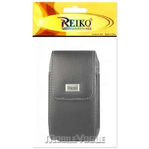 Leather Pouch Case For Apple iPhone 4/4S AT&T Verizon Black