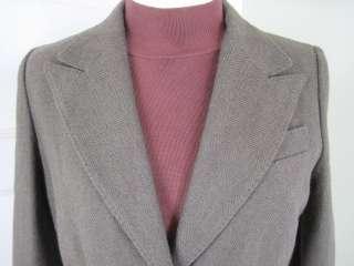 JUICY COUTURE Brown Tweed Blazer Jacket L