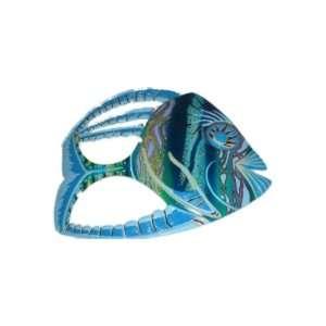 TROPICAL FISH ART BEACH DECOR 11X 9