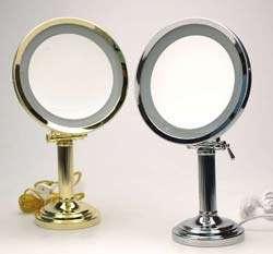 Sharper Image Lighted Vanity Mirror