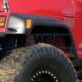 Smittybilt Black 6 Wide Fender Flares Jeep Wrangler TJ