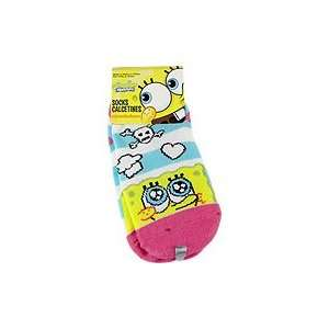 Spongebob Squarepants Socks Skull   1 pair,(Nickelodeon