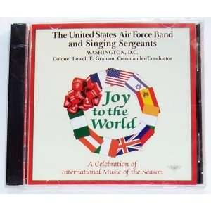Joy to the World (Audio CD) United States Air Force Band and Singing
