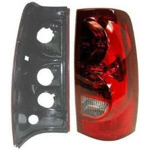 03 CHEVY CHEVROLET SILVERADO PICKUP TAIL LIGHT RH (PASSENGER SIDE