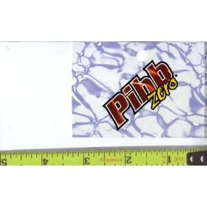 Medium Square Size Mr. Pibb Zero Logo Soda Vending Machine