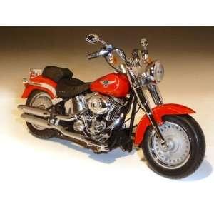 2011 Harley Davidson FLSTF Fat Boy 1/12 Scarlet Red Toys