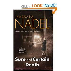 Sure and Certain Death (9780755336258) Barbara Nadel Books