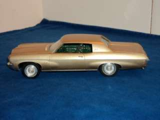 Vintage AMT 1970 Chevy Impala Heavy Chevy 1/25 Scale Built Model Kit