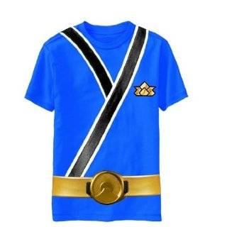 Samurai Character Boys T shirt (L (7), Black) Power Rangers Samurai