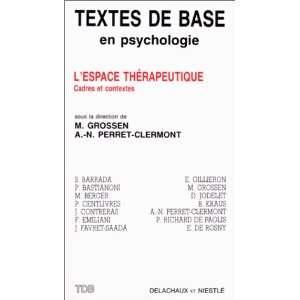 Textes de base en psychologie) (French Edition) (9782603008751) Books