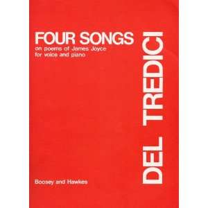 for voice and piano (BH. BK. 740) David Del Tredici (composer) Books