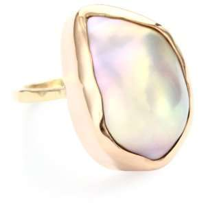 Joy Manning Not Your Mothers Pearls Baroque Pearl Ring: Jewelry