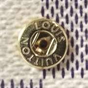 LOUIS VUITTON Damier Azur ALEXANDRA Wallet Coin Purse