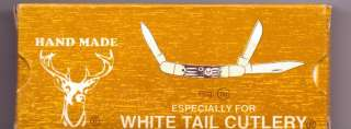 WHITE TAIL CUTLERY 3 BLADE POCKET KNIFE BRAND NEW #1118