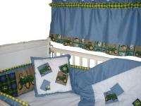 Baby Crib Bedding w/Rare John Deere Lg Tractor fabric