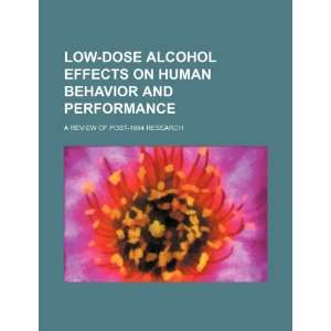 an analysis of alcohol and the effects on behavior Excessive alcohol use has immediate effects that increase the alcohol and crime: an analysis of national data on castillo s health and behavioral.