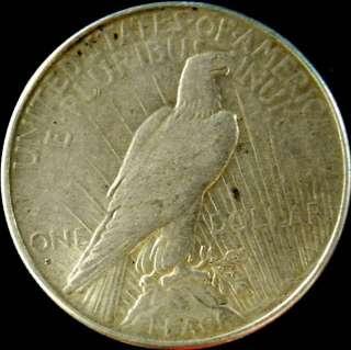 US Coin 1926 S Peace 90% Silver Dollar High Grade