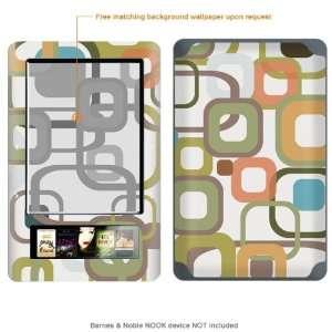 Skin Sticker for  (Matte Finish) case cover MATT_NOOK 42