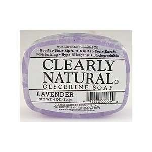Clearly Natural Soaps   Lavender Beauty