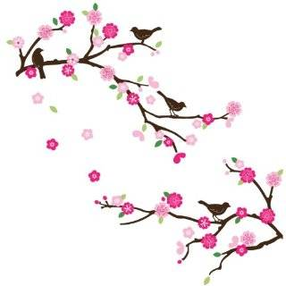 Little Boutique Cherry Blossom Wall Decal