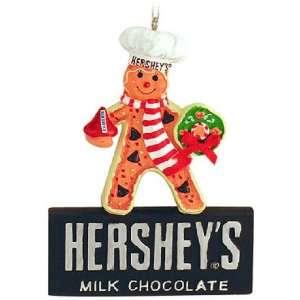 Hersheys Milk Chocolate Gingerbread Man Chef Christmas