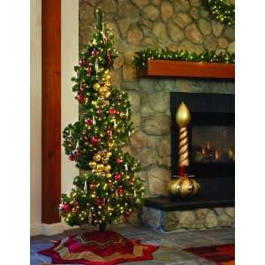 GKI Bethlehem Lighting 7.5 Foot Sierra Spiral Christmas Tree
