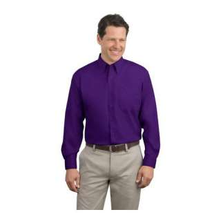 Port Authority Extended Size Long Sleeve Shirt. S608ES