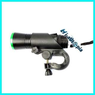 New Green Ring Bright Bike Bicycle Cycling LED Head Light Torch