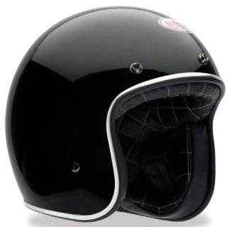 Bell Custom 500 Black Flake Open Face Motorcycle Helmet