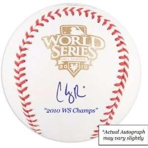 Cody Ross Autographed Baseball  Details San Francisco Giants, 2010