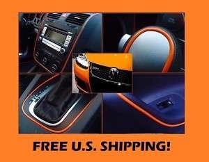 Mercedes 12 Orange Mirror Seat Gauges Tail Light Trim