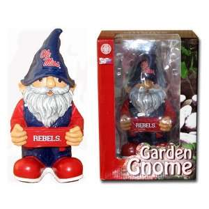 Ole Miss Rebels NCAA Team Garden Gnome