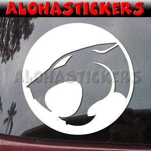 THUNDERCATS Logo #1 Vinyl Decal Car Window Sticker M126