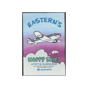 Vintage Eastern Airlines Activity Coloring Book Toy